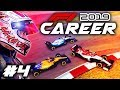 F1 2019 CAREER MODE Part 4: HIT OFF TRACK! & FIRST TASTE OF WET WEATHER RACING!