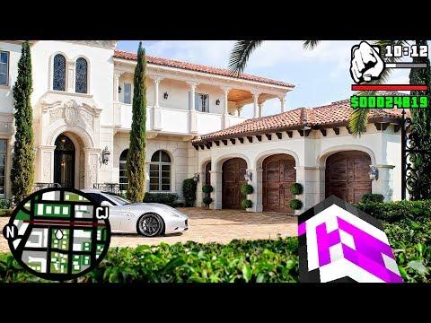 ¡MI NUEVA CASA REALISTA EN GTA V EN MINECRAFT! | MINECRAFT TROLL thumbnail