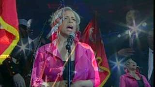USA National Anthem sung by Patti Austin