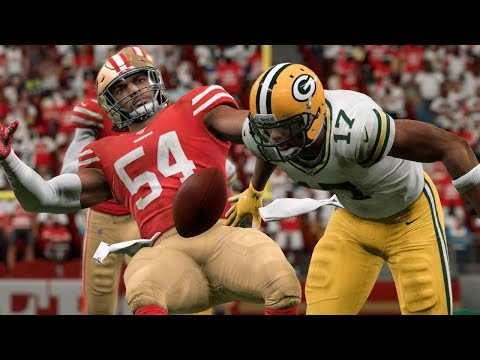 San Francisco 49ers Vs Green Bay Packers | NFL Live 1/19/2020 NFC Championship (Madden)
