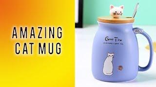 Cat mugs   cat mugs heat changing color magic mugs multi color cat