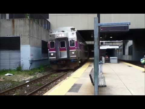 Commuter Rail and Red Line at Porter Square