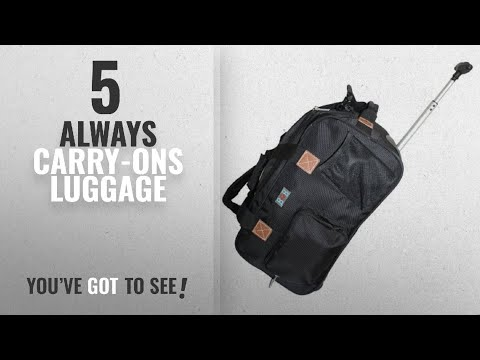Always Carry-Ons Luggage [2018]: BoardingBlue Rolling Personal Item for Alaska, Delta,Virgin