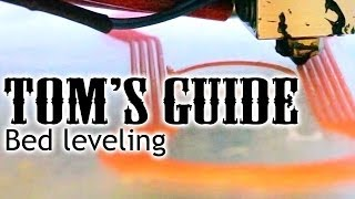 3D printing guides - Bed leveling