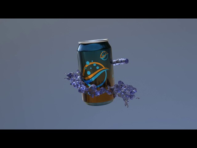 FLIP fluids | #4 Splash along a path