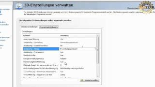 Nvidia Systemsteuerung konfigurieren - Tutorial -  NooBTECH.at [ReUpLoad]