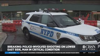 Police-Involved Shooting On Lower East Side