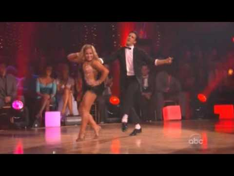 WINNER of DWTS Shawn Johnson and Mark Ballas Dancing with the Stars - finale show dance cha cha cha