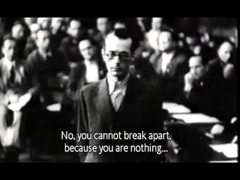 Footage of Roland Friesler (1944)