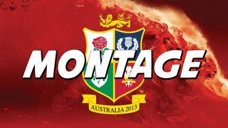British & Irish Lions VS Wallabies 2013 Montage