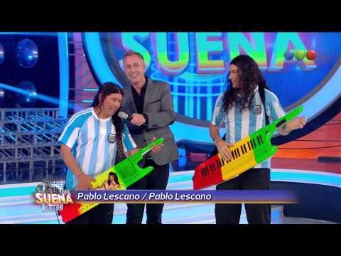 Pablo Lescano con Hernán Drago - Tu cara me suena 2014