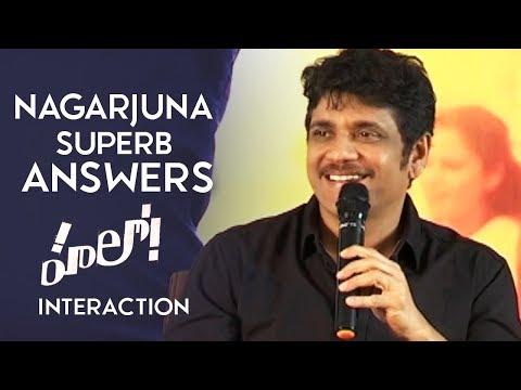 Akkineni Nagarjuna Superb Answers To Media Questions | Nagarjuna Interacting With Media