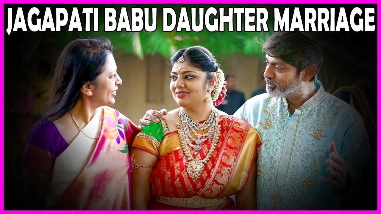 Jagapathi Babu Daughter Meghna Marriage Wedding Stills Photos