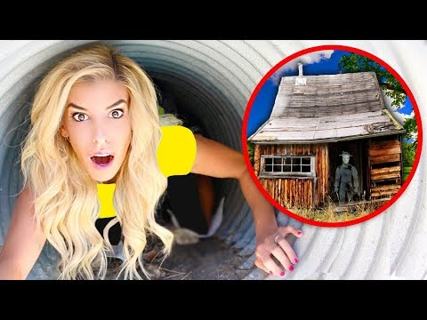 We FOUND the GAME MASTERS House! New Evidence Exploring SECRET Hidden Underground Tunnel!