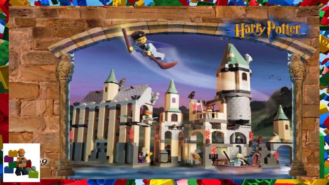 Lego Instructions Harry Potter 4709 Hogwarts Castle Youtube