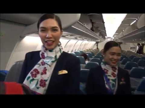Flying Philippine Airlines Bangkok (BKK) to Manila (MNL) April 2017