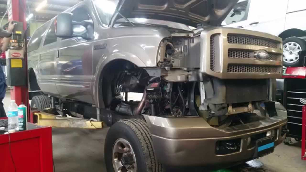 Ford Excursion Body Removal Youtube