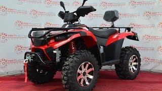 "Видео обзор Квадроцикл Linhai -Yamaha 400 RESTYLING 4x4 ""АРТМОТО"" Video"