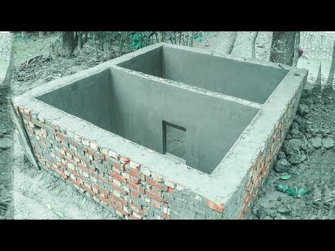 Amazing Construction - Septic Tank Installation Process Step By Step | How to make a septic tank