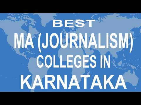Best MA Journalism Colleges And Courses  In Karnataka