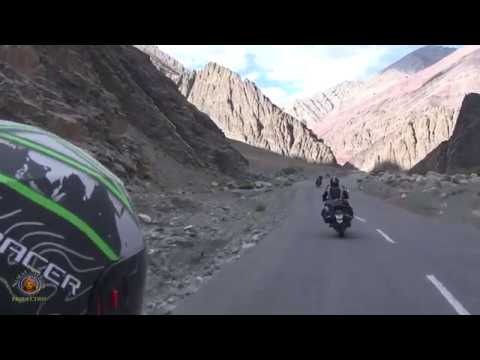 2016 Nrsimha & Friends Indian Cross Country Motorcycle Trip - Himalayan Mountains - Pt 4.
