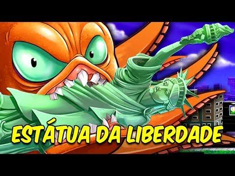 DESTRUINDO A ESTÁTUA DA LIBERDADE COM UM SUPER-POLVO   Octogeddon #1