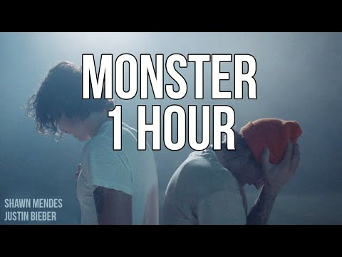 Monster - Shawn Mendes, Justin Bieber (1 HOUR LOOP)