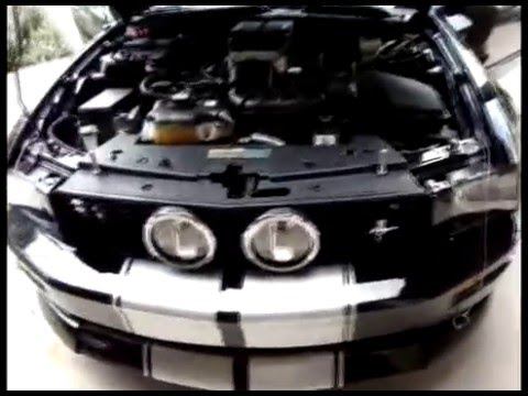 Saleen Supercharger on 2007 Mustang GT