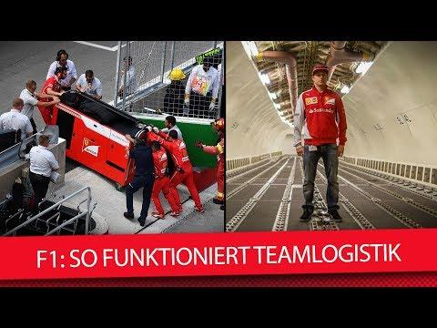 Formel 1: So funktioniert F1-Teamlogistik