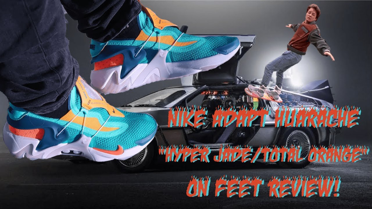 Download Nike Air Huarache Hyper Jade Nike Adapt Huarache Pictures