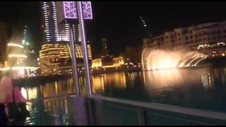 Aabali habibi,Must watch HD ARAB Music dubai fountain show and burj khalifa