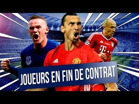 FIFA 18 - JOUEURS EN FIN DE CONTRAT 2018