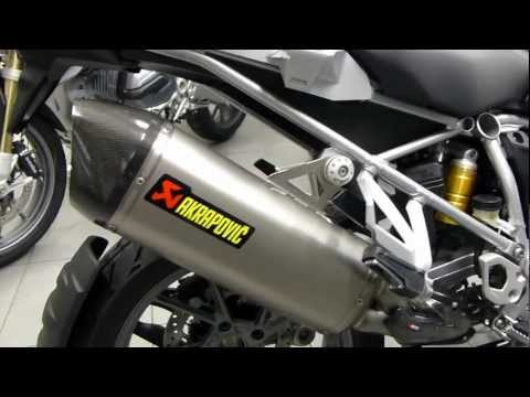 BMW R 1200 GS 2013 sound Akrapovic *new*