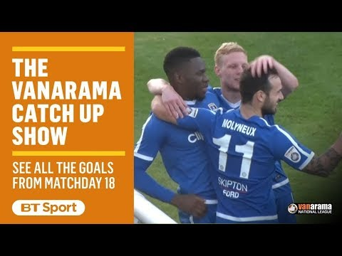 Vanarama National League Highlights Show | Matchday 18