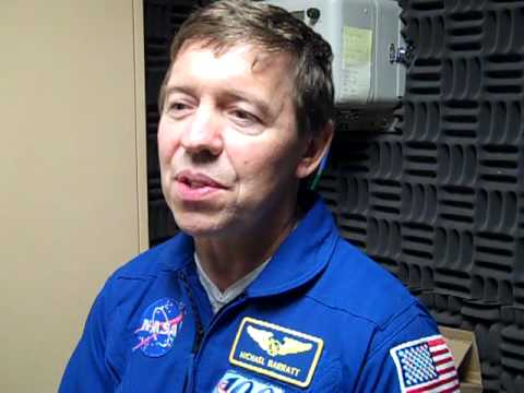 Astronaut Michael Barratt