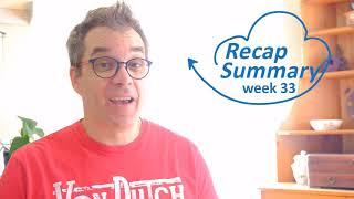 Recap/ Summary week #33