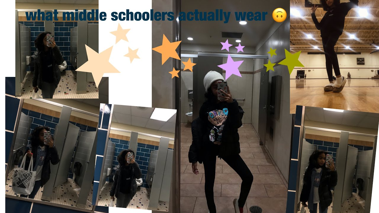 [VIDEO] - What I ACTUALLY wear TO SCHOOL ~ Outfits Of The Week ~Ronni P 2