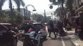 Viral! Video Tabrak Lari di Bandung