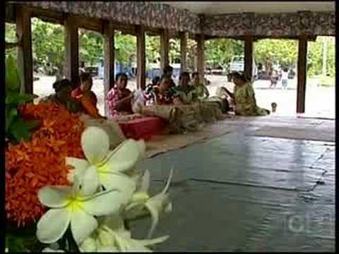 Oxfam Fine Mat Weaving, Samoa - Campbell Live
