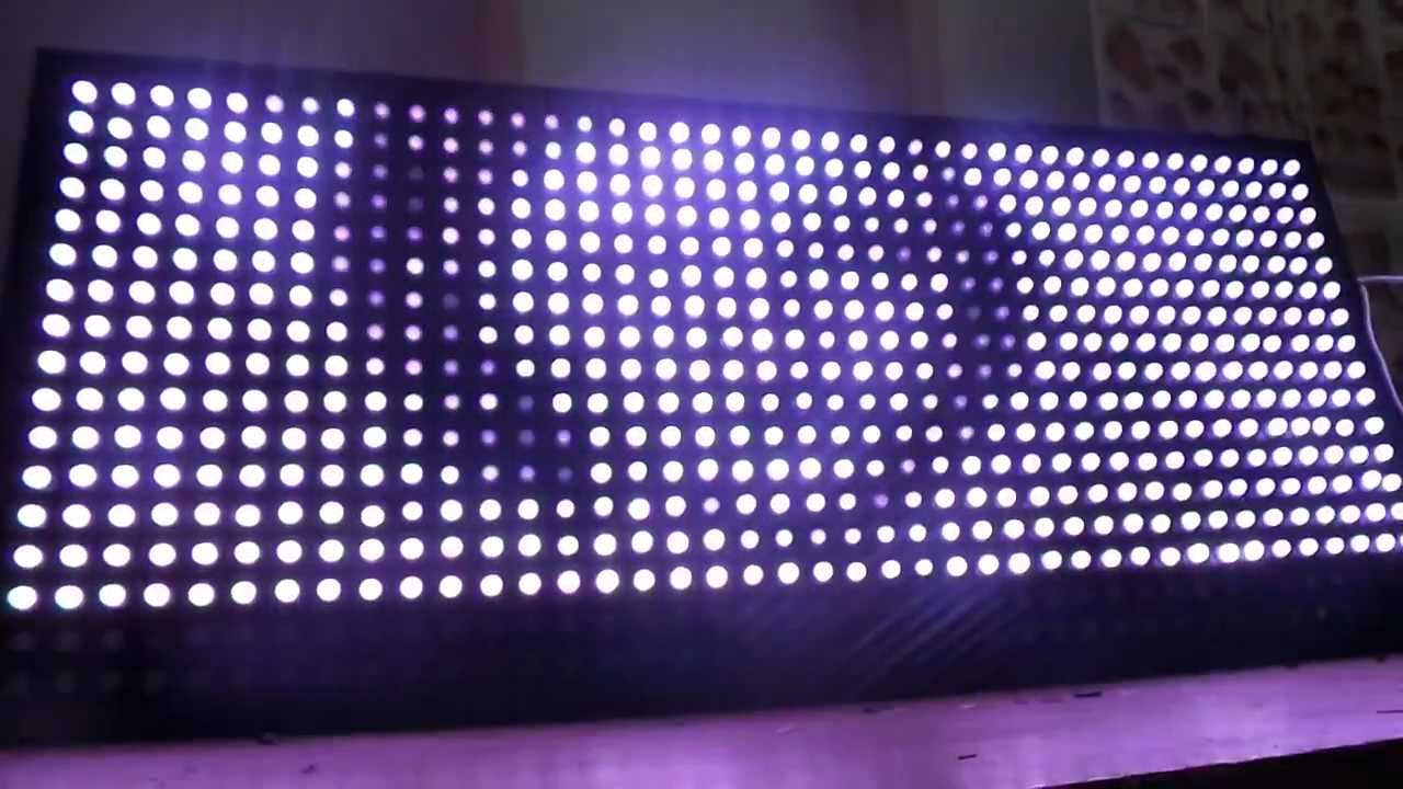 Led Matrix 41 15 Raspberry Pi Ws2801 Via Spi Programmed
