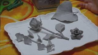 Tauchbeton für Blumen/Rosen in Beton getaucht - Beton zum Tauchen