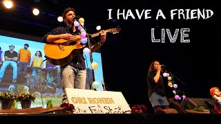 Ori Ronen & the Folk Stoners - I Have a Friend LIVE in Tel Aviv