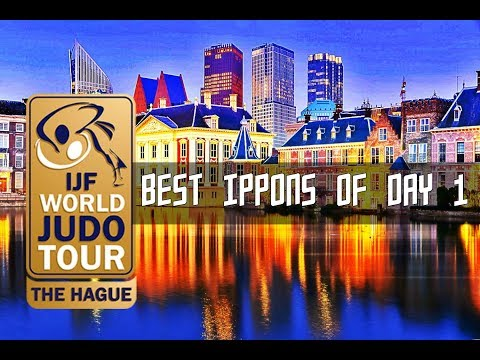 Best ippons in day 1 of Judo Grand Prix The Hague 2017