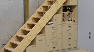 Tool Tansu, carpentry woodworking tool organization cabinets