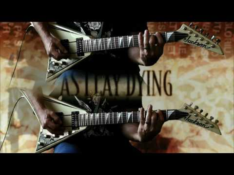 As I Lay Dying - Behind Me Lies Another Fallen Soldier FULL Guitar Cover mp3