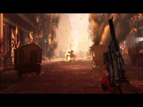 Bioshock Infinite Main Menu B-Roll Video [Song is Beast by Nico Vega]