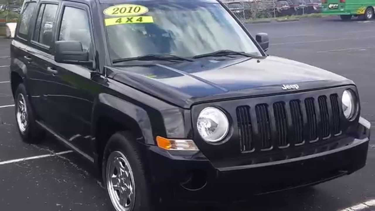 2010 jeep patriot sport with cory smith jones in indianapolis
