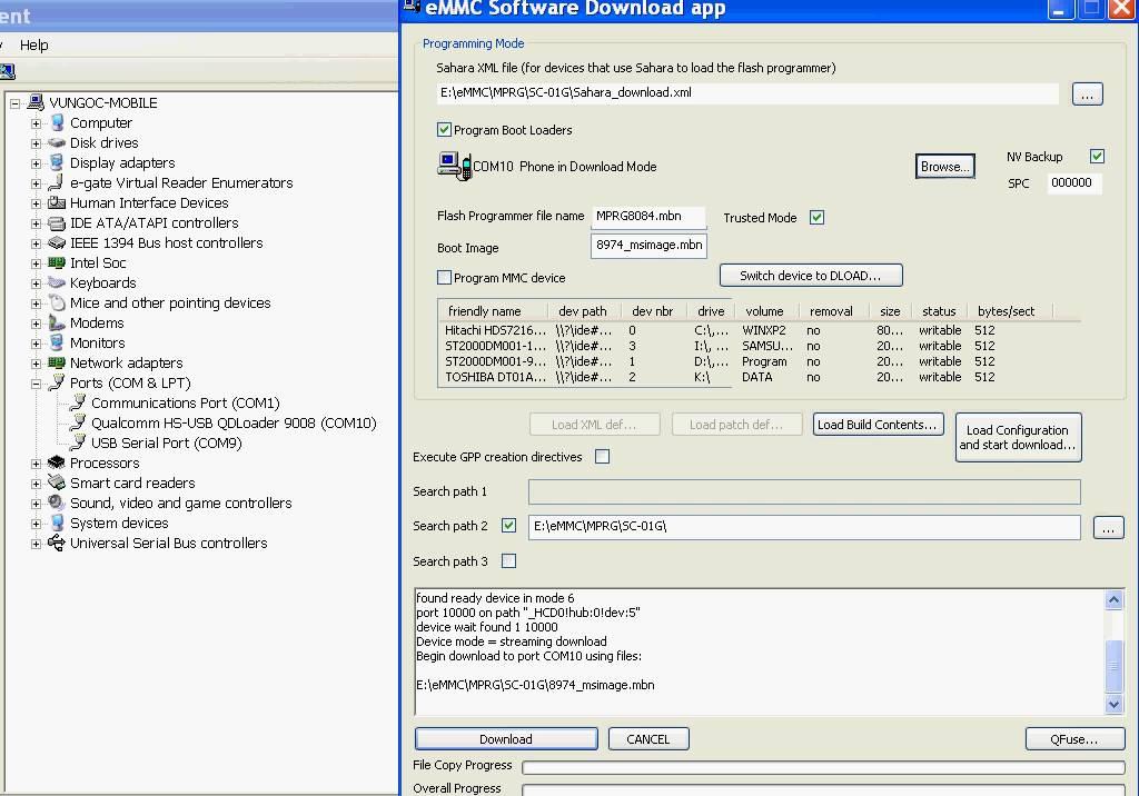 Repair boot Unbrick CHIP Snapdragon 805 APQ8084