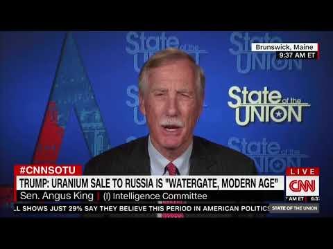 Angus King: Investigate Uranium One Deal