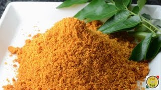 Gun Powder For Idli Dosa Tava Fry  - By Vahchef @ vahrehvah.com